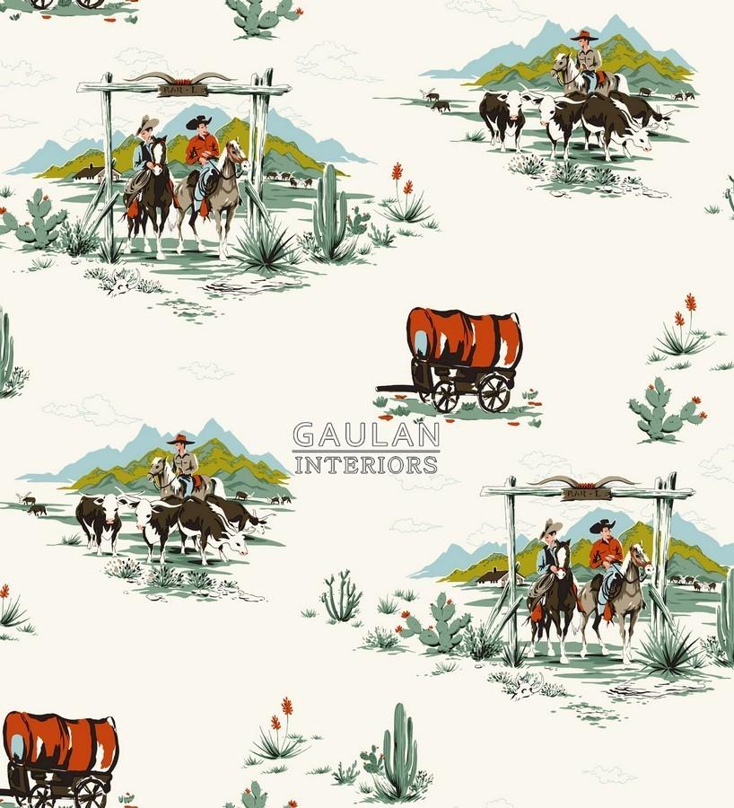 Papel pintado Rasch Textil Everybody Bonjour - 128717