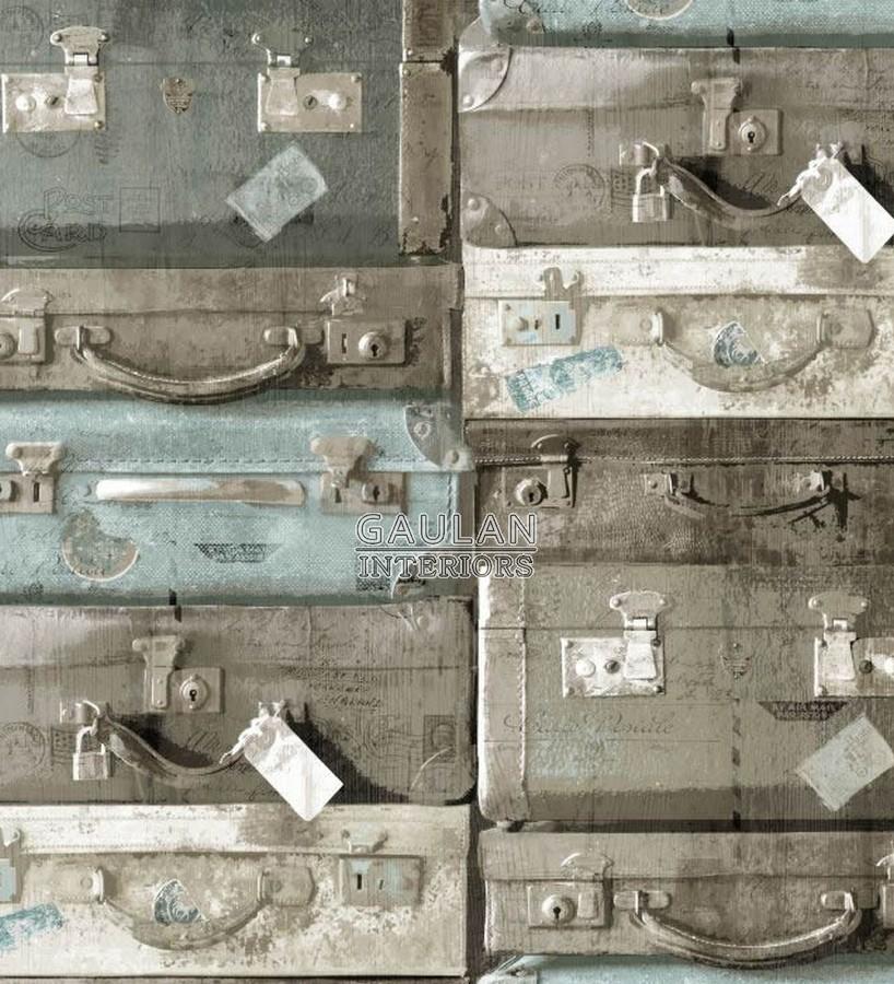 Papel pintado Rasch Textil Vintage Rules - 038214