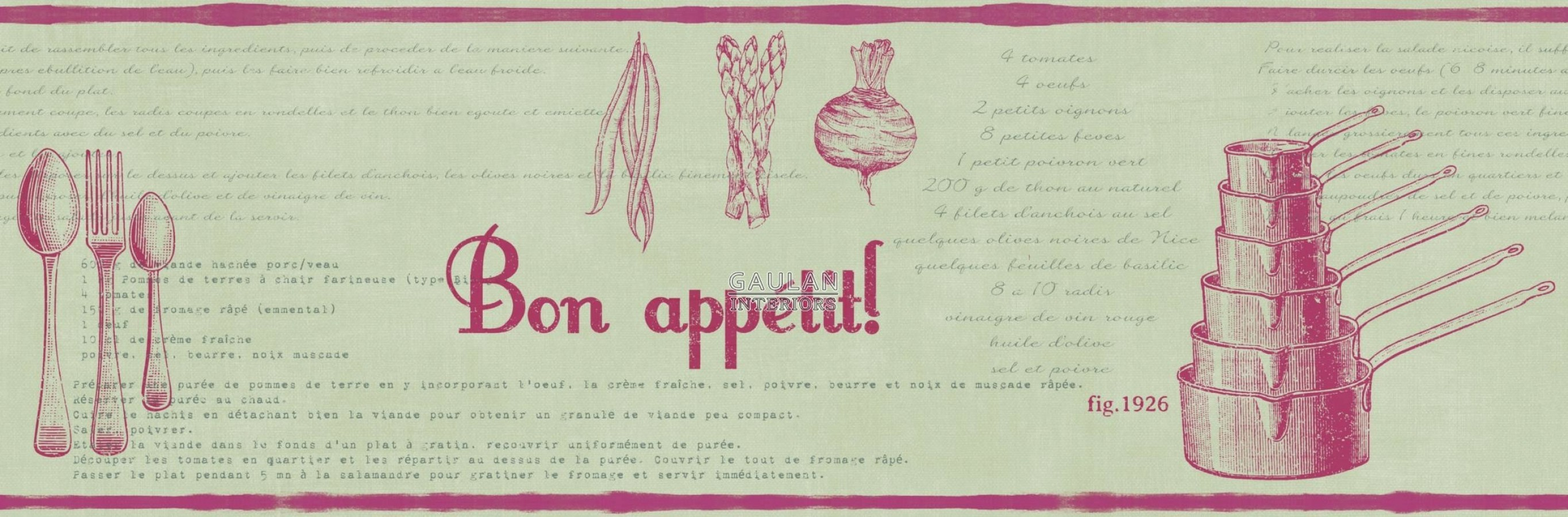 Cenefa Caselio Bon Appetit BAP 6847 80 99 68478099