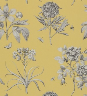 Papel pintado Sanderson Parchment Flowers - DPFWER104