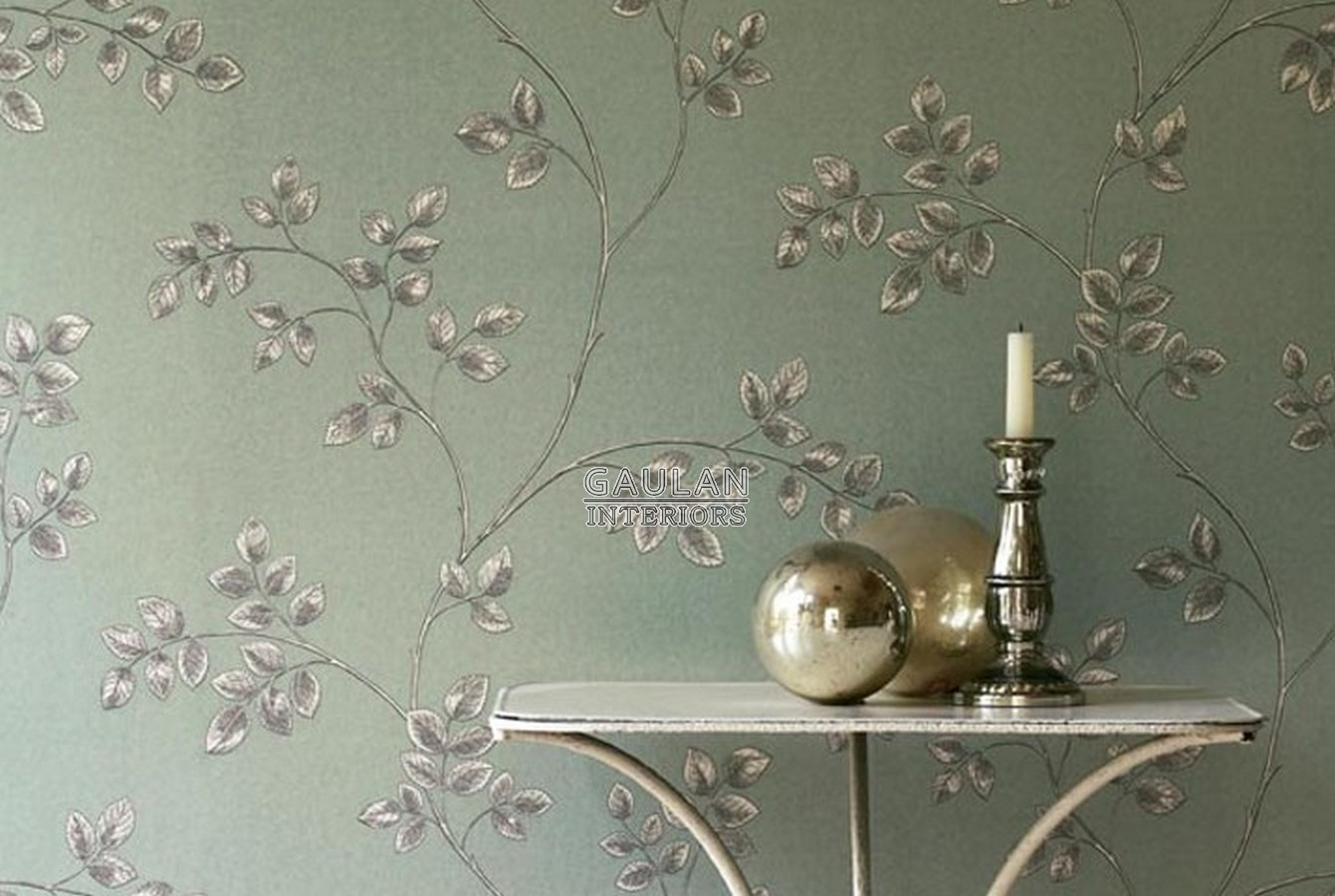 Papel pintado Sanderson Parchment Flowers - DPFWFR105