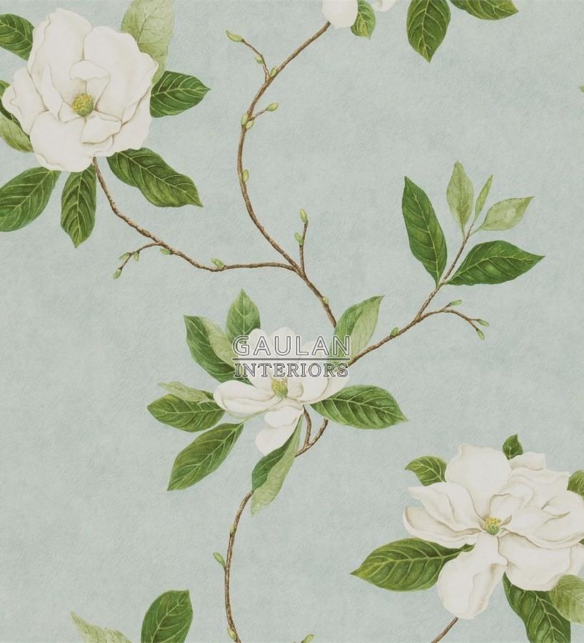 Papel pintado Sanderson Parchment Flowers - DPFWSW101