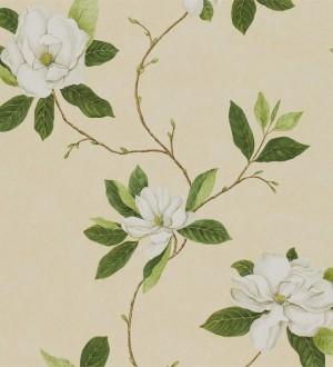 Papel pintado Sanderson Parchment Flowers - DPFWSW102