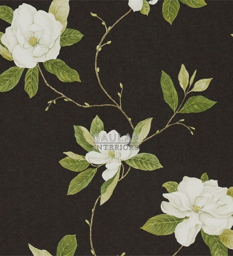 Papel pintado Sanderson Parchment Flowers - DPFWSW103