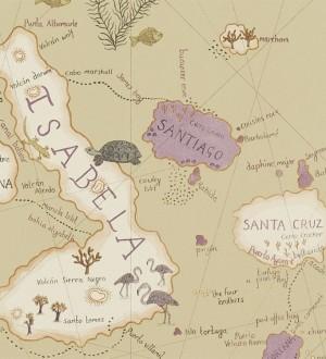 Papel pintado Sanderson Voyage Of Discovery 213363 -