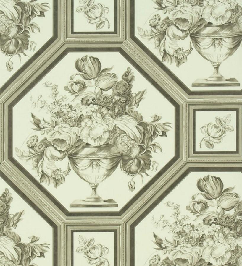 Papel pintado the royal collection rosa chinensis pq010 05 - Gaulan papel pintado ...