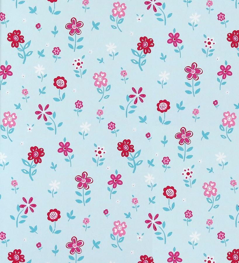 Papel pintado jardín de flores infantiles Menali 116225