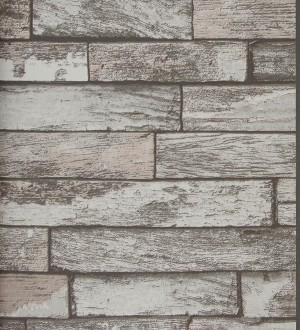Papel pintado ladrillos decapados Shabby Chic vintage Missouri 118402