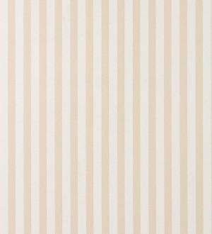 Papel pintado rayas modernas finas avellana y blanco Raya Freire 119719