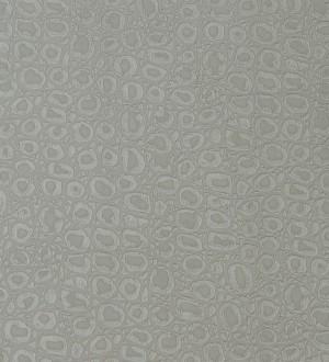 Papel pintado efecto piel de tortuga africana gris Douala 119816