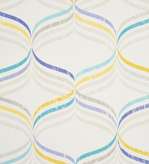 Papel pintado ornamental geom trico moderno asfila 341317 - Papel pintado moderno ...
