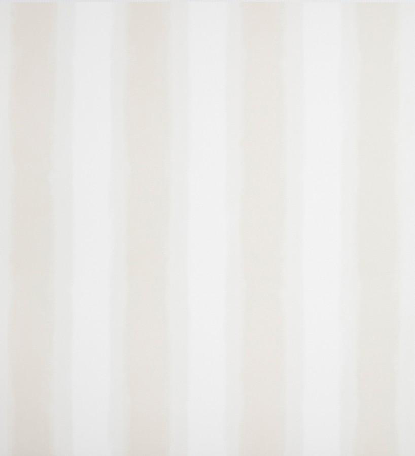 Papel pintado rayas difuminadas de acuarela beige claro y blanco roto Raya Isaura 341452