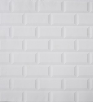 Papel pintado muro de ladrillo diseño urbano blanco Tucson 341575