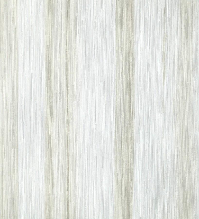 Papel pintado rayas difuminadas de acuarela visón fondo blanco Raya Stenella 342066