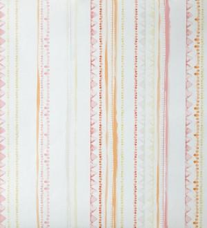 Papel pintado rayas infantiles de acuarela Raya Libelflies 342108