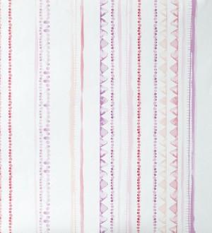 Papel pintado rayas infantiles de acuarela Raya Libelflies 342110