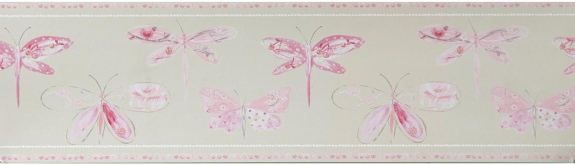 Cenefa mariposas y libélulas Small Libelflies 342133