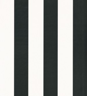 Papel pintado rayas elegantes modernas negro y blanco Raya Majorelle 342365