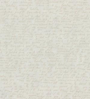 Papel pintado escritos de diario vintage beige oscuro Caroline 342480