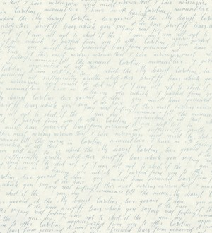 Papel pintado escritos de diario vintage gris metalizado Caroline 342483