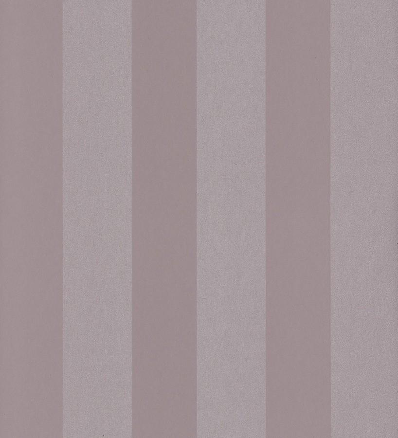Papel pintado rayas modernas tonos lila y malva Raya Leila 342652