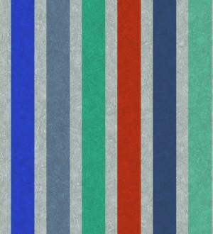 Papel pintado rayas juveniles modernas Raya Farfalle 342780