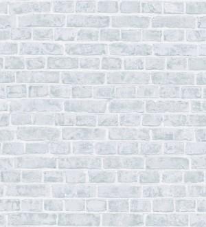 71f52c72e4862 Papel pintado muro de ladrillo juvenil gris claro Toronto 342782