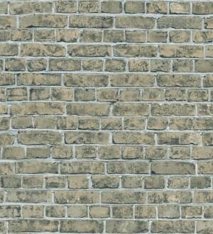 44d2eed7231e7 Papel pintado muro de ladrillo juvenil gris visón Toronto 342783