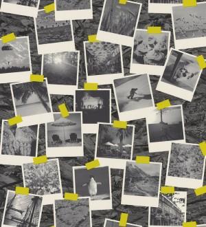 Papel pintado fotos Polaroid de viajes en blanco y negro Vostell 342796