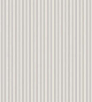 Papel pintado rayas finas para niños gris claro y blanco Raya Singer Birds 228108