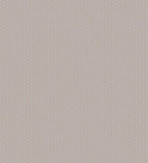 Papel pintado topitos románticos para bebés fondo gris Coquette Dots 228113