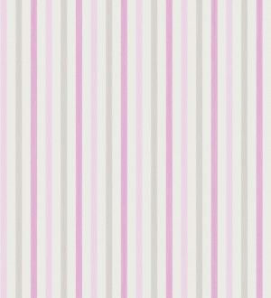 Papel pintado rayas tricolor juveniles Raya Sweet Trees 228326