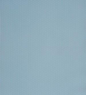 Papel pintado topitos para bebés fondo celeste aguamarina Coquette Dots 229260