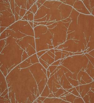 Papel pintado ramas de árboles marrón claro Aloysia 230170