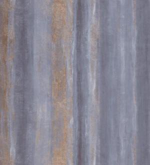 Papel pintado rayas difuminadas efecto veta gris lavanda y gris oscuro azulado Raya Jopitos 231626