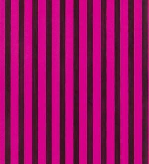 Papel pintado rayas bicolor morado arcilla y rosa intenso Raya Turkana 563903
