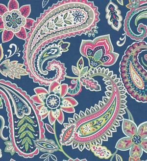 Papel pintado motivos cashmere diseño vintage Ganesha 564584