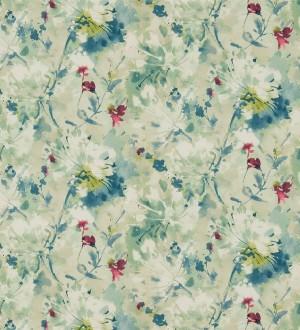 Papel pintado flores pequeñas al óleo diseño inglés Denise 564965