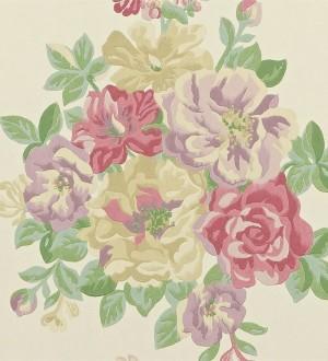 Papel pintado ramos de flores grandes artísticas Lionor 565039