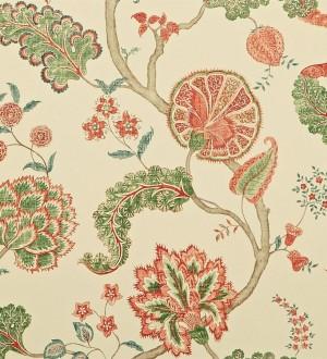 Papel pintado flores y plantas vintage diseño japonés Dornely 565043
