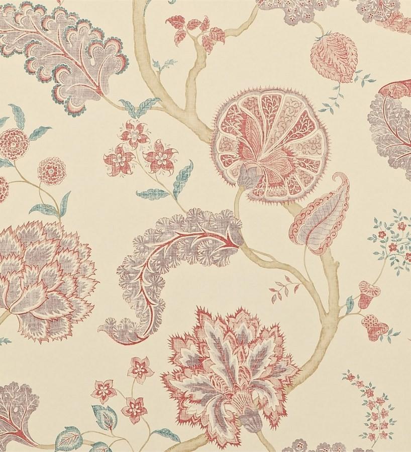 Papel pintado flores y plantas vintage dise o japon s - Papeles pintados japoneses ...