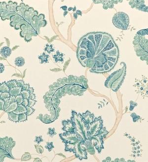 Papel pintado flores y plantas vintage diseño japonés Dornely 565045