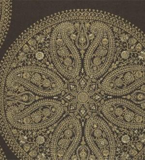 Papel pintado medallones grandes de cashmere vintage Brahma 565049