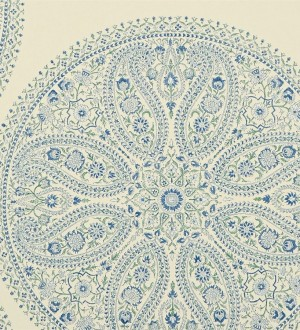 Papel pintado medallones grandes de cashmere vintage Brahma 565050