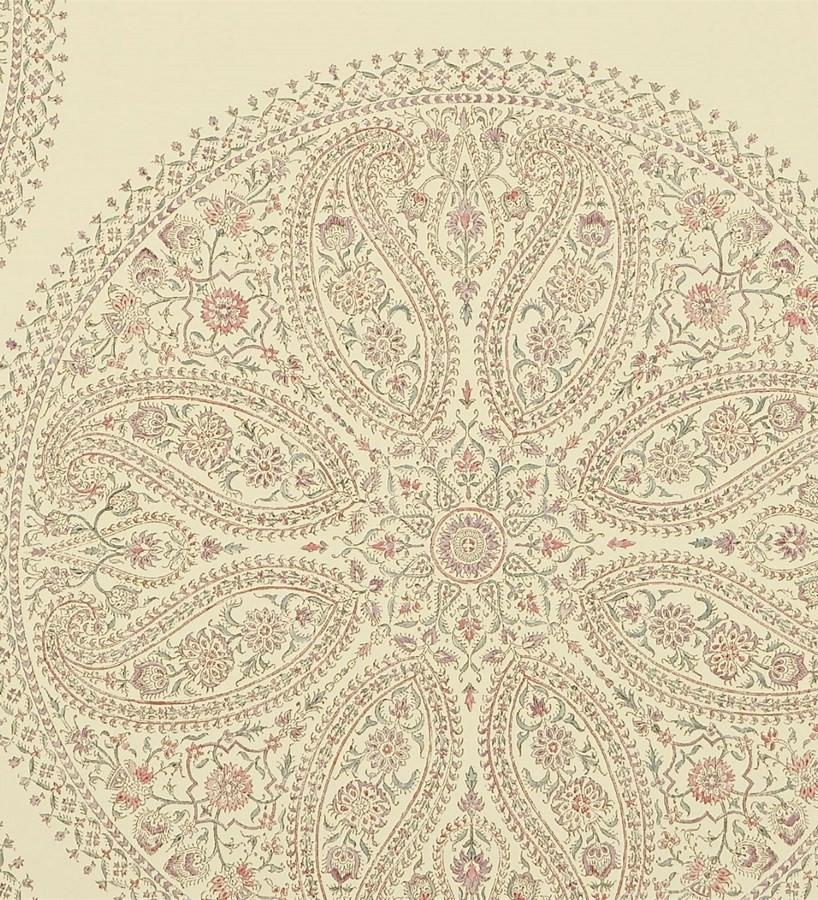 Papel pintado medallones grandes de cashmere vintage Brahma 565051