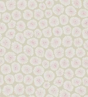 Papel pintado flores pequeñas modernas fondo beige pálido Nicolette 565059