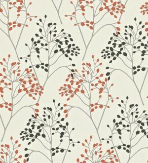 Papel pintado rboles de hojas peque as estilo ingl s for Papel pintado estilo ingles