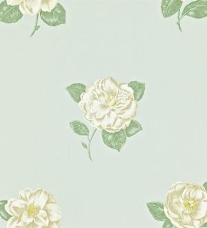 Papel pintado flores artísticas románticas vintage Tania 565223