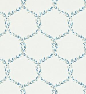 Papel pintado ornamental de hojas de laurel artístico Lenoire 565239