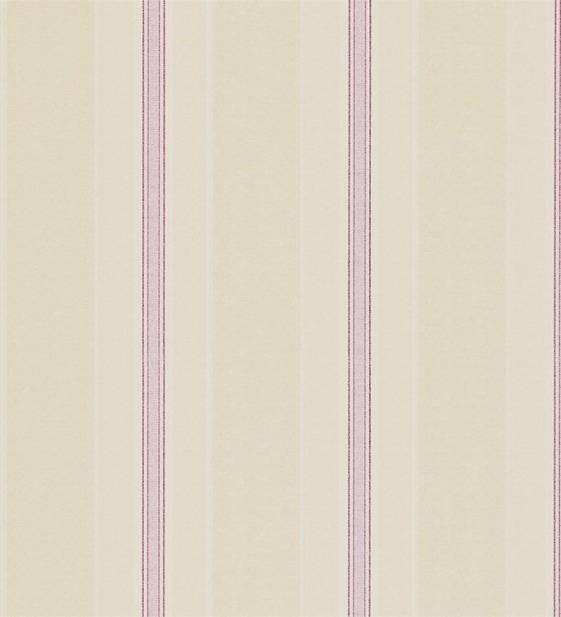 Papel pintado rayas clásicas efecto texturizado inglés Raya Nora 565331